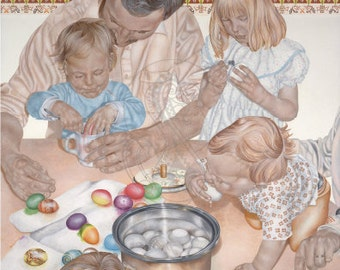 Beloved Ones - Canvas Painting Reproduction