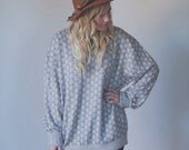 Cindy Taupe Oversized Sweater
