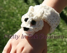 Polar Bear | Rainbow Loom Animal Bracelet