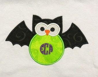 Owl/Bat Monogram