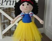 Snow White crochet pattern