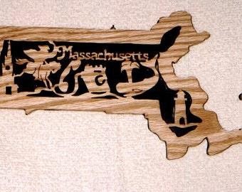 Massachusetts State Plaque