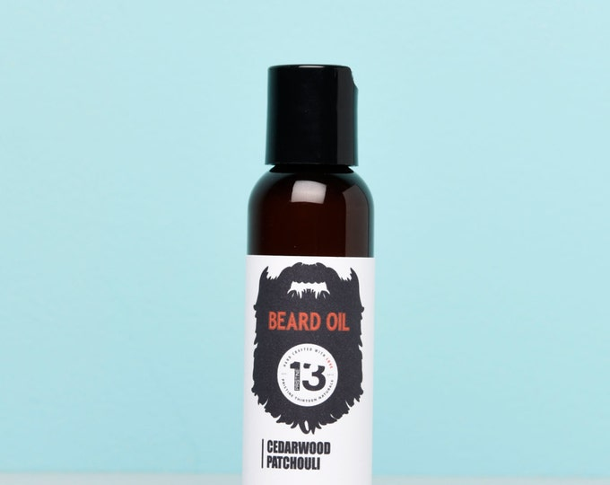 Patchouli and Cedarwood Beard Conditioning Oil