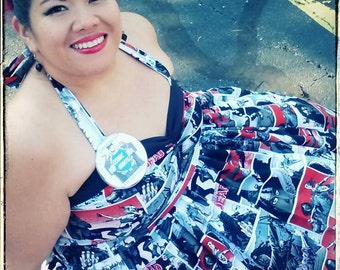 Women's Create Your Own Rockabilly Comic Dress!!