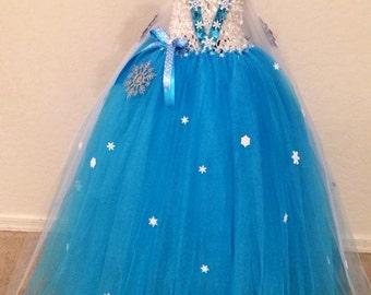 Custom ball gown/ tea length dress