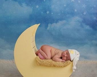 SALE Photography Backdrop Starry Night, Newborn Photography Backdrop, Vinyl Photography Backdrop, Baby Photography Background - WHM102