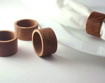 Wooden Napkin Rings (4)