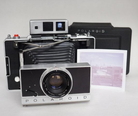 Model Land Movie: Polaroid 180 Pack Film Instant Land Camera. By RetrospektShop