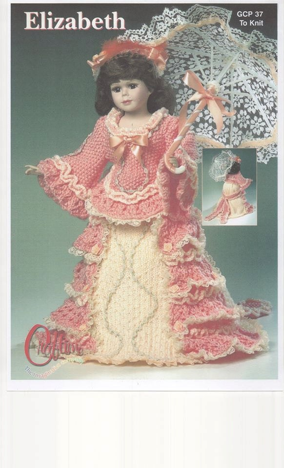 Knitting Patterns For Porcelain Dolls : Dolls Knitting Pattern Double Knitting Dolls Pattern