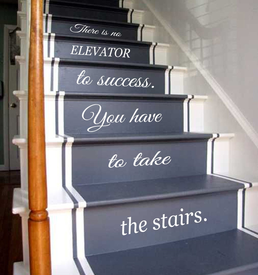 Beautiful Description. Wall Decals Quote Life Quotes Staircase ...