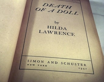 Death of a Doll by Hilda Lawrence (1947)