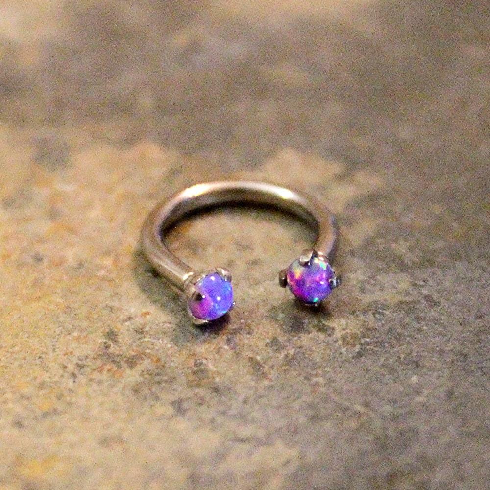 Purple Opal Fire Hoop ...