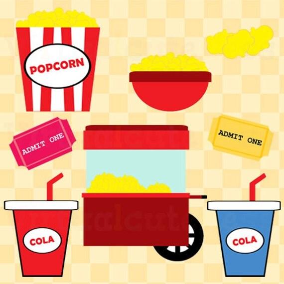 Popcorn Clipart Movie Theater Clip Art Movies Clip Art