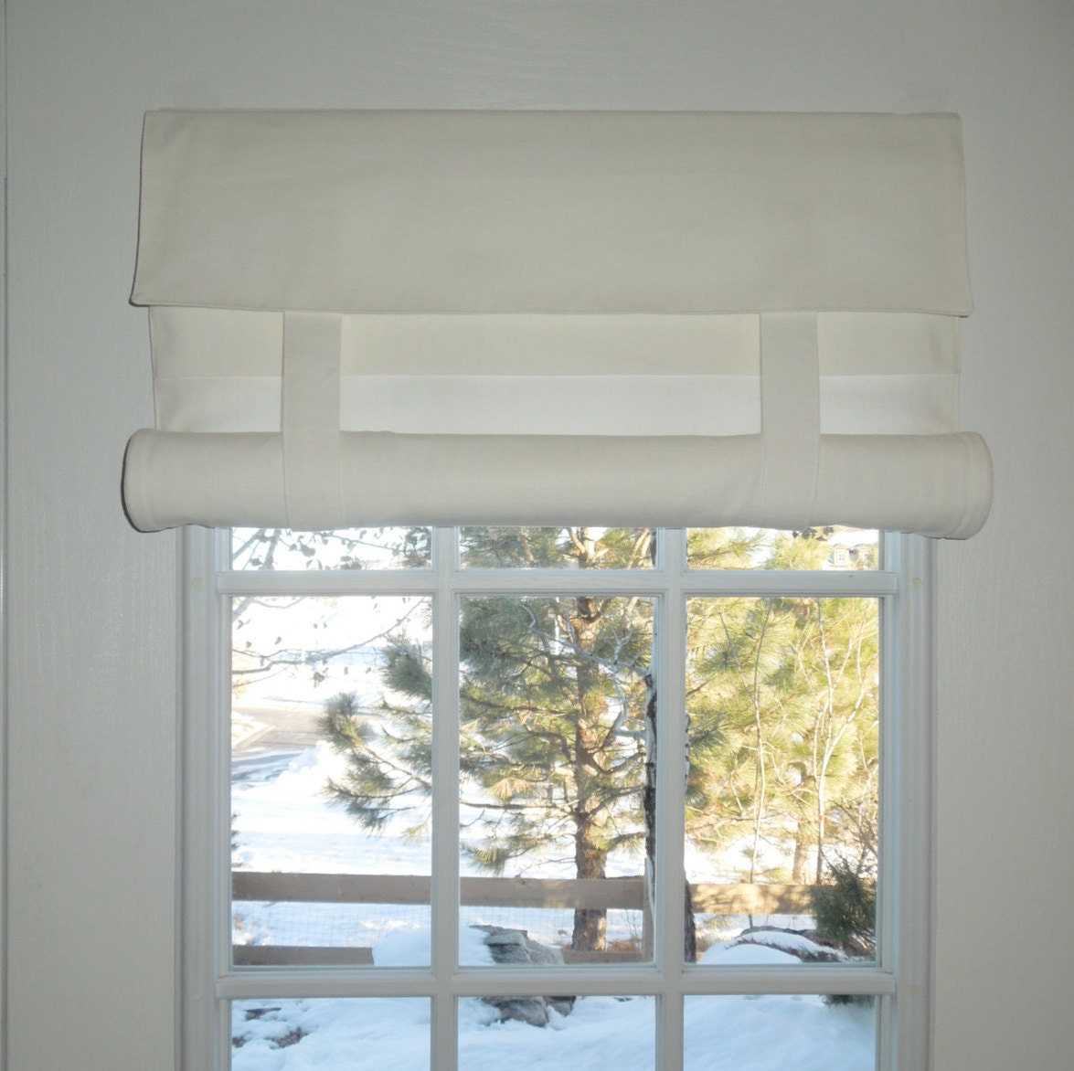 White French Door Curtain Off White Color