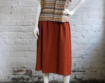 Ethnic Wool Waistcoat