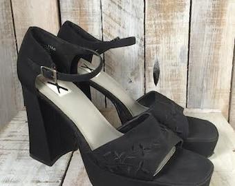 Club X Platform Heels - Platform High Heels Shoes - Women high heel shoes -high heeled shoes- platform shoes women -Platform Pumps - Size 11