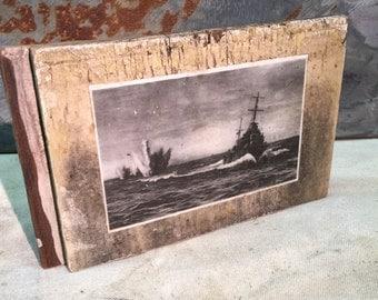 WWII Sea Battle wall art - POP BLOCK -