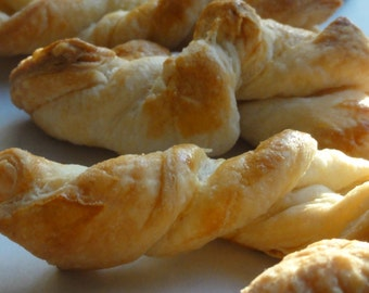 2 dozen /24  french biscuit, authentic french, puff pastry biscuit, salty biscuit