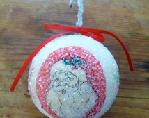 Vintage Christmas Ornament
