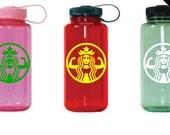 "Workout Water Bottle Decal,  ""Starbuff""  Custom Color,  Laptop Decal Decal, Car Decal, Fit Decal, Workout Decal, Starbucks Parody"