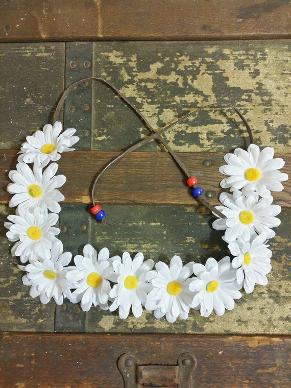 how to make daisy crown
