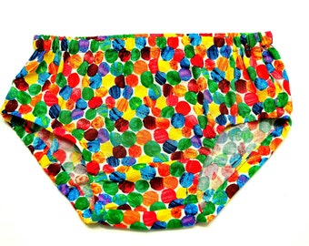 LAST ONE! Very Hungry Caterpillar Dots Diaper Cover
