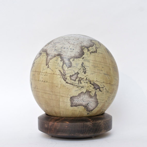One Of The Worlds Last Remaining GlobeMakers That Use