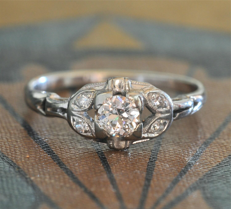 edwardian engagement ring 1920s engagement ring antique. Black Bedroom Furniture Sets. Home Design Ideas