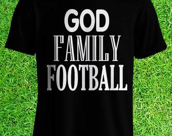 God Family Football Soccer Camiseta Remera Football Futbol Soccer T Shirt T-shirt Shirt Tee