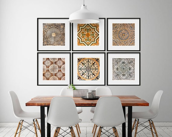 Moroccan Tiles Posters Posters Artwork Tiles Moroccan Art