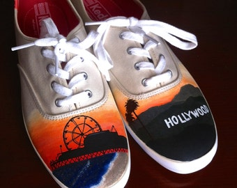 California Hand Painted Shoes