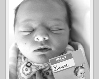 Baby Milestone Cards - Capture your Baby's first year with these vintage inspired Record Cards