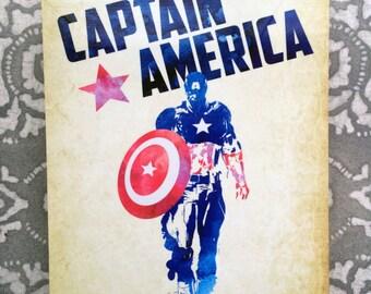 Captain America - Steve Rogers Metal Plate