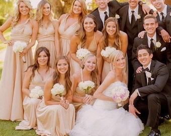 """As Seen on Fox TV Masterchef 2014 """"It's a Masterchef Wedding"""" The All Custom Radical Thread Infinity Dress"""