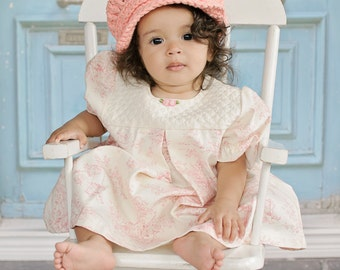 Baby Girl Newsboy Hat 9 to 12 Month Peach Baby Hat Baby Newsboy Cap Baby Girl Hat Crochet Newsboy Buckle Baby Girl Clothes Orange Baby Hat