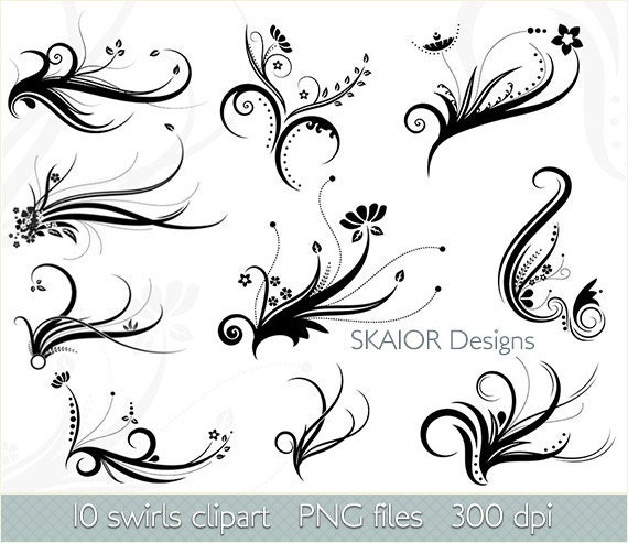 Swirl clipart clip art vector flourish png flower digital scrapbook swirl clipart clip art vector flourish png flower digital scrapbook vintage victorian stamp wedding invitations fantasy gothic silhouette stopboris Image collections