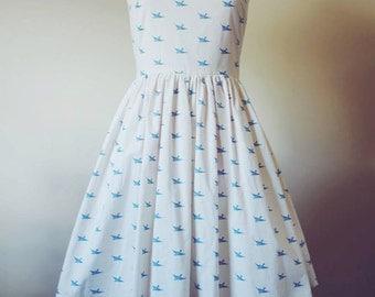 Bluebird is the Word Dress