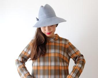 Tartan vintage shift dress, Medium, Kamomechan # 3
