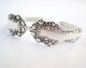 Berkshire 1897, Spoon Bracelet, FREE ENGRAVING, Spoon Jewelry, Silverware Jewelry, SIlverware Bracelet, Silver Bracelet, Vintage Wedding