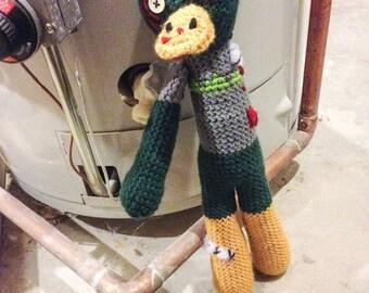 Amigurumi Crochet Duck, Zombie Duck