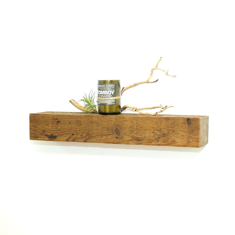 Reclaimed Wood Floating Shelf 26 By Christopheroriginal On
