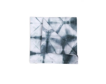 Shibori Chambray square