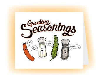 Greeting Seasonings