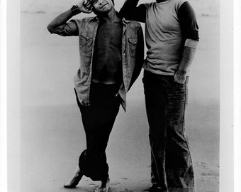 Bernie Taupin and Elton John Publicity Photo (8 by 10 Inches)