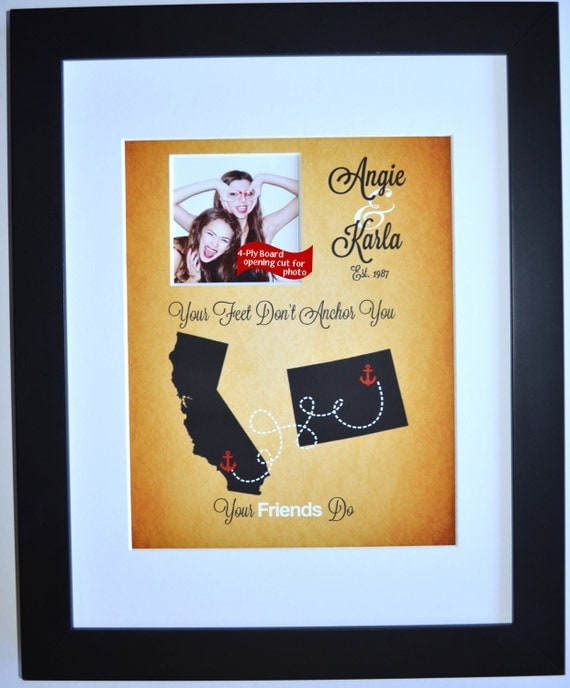 7 Personalized Birthday Presents For Your Best Friend: Personalized Gift For Best Friends Birthday Gift Custom By