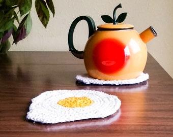 Handmade Egg Potholder - Made to Order