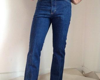 Vintage Men's Dark Blue Cone Denim Jeans 31