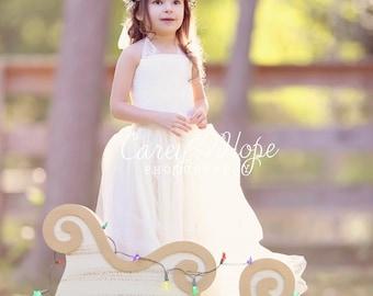 Gold Berry Rustic Crown, Flower Girl Wreath, Winter Wedding Crown, Cream Bridal Crown, Woodland Headband, Cream Floral Crown, Natural Crown