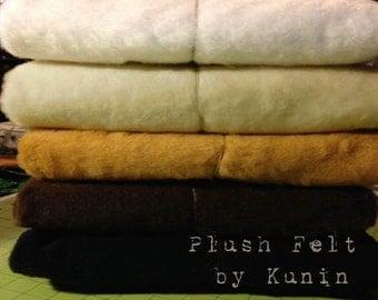 "Plush Felt - 1 Yard of Plush Felt by ""Kunin"" for Sparkles N Spirit Dolls"
