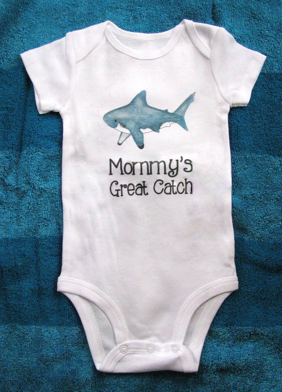 cute baby bodysuit unique baby clothes shark baby clothes. Black Bedroom Furniture Sets. Home Design Ideas